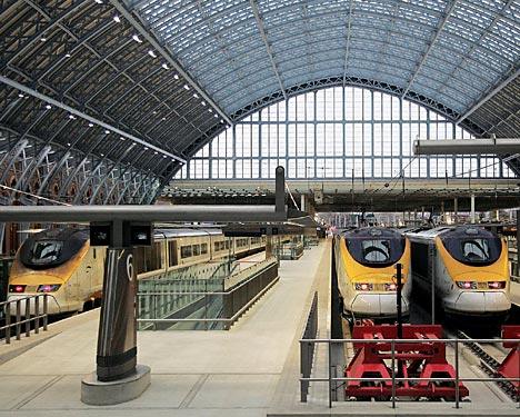 London terminus at St. Pancras